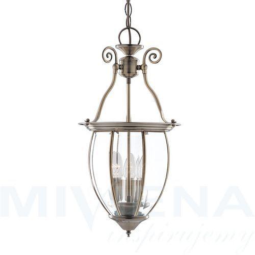 Lanterns lampa wisząca 27 antyczny mosiądz (5013874144126)