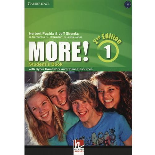 More! 1 Second Edition. Podręcznik + Cyber Homework + Online Resources, oprawa miękka