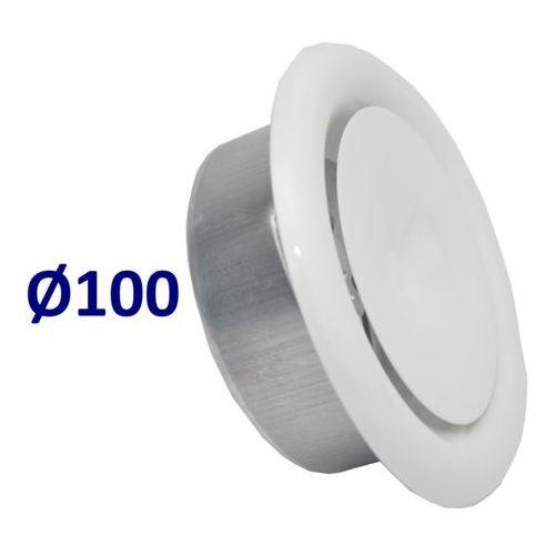 Anemostat Nawiewny Średnice od 100 do 200 Zawór do Wentylacji Wszystkie Średnice Średnica [mm]: 100