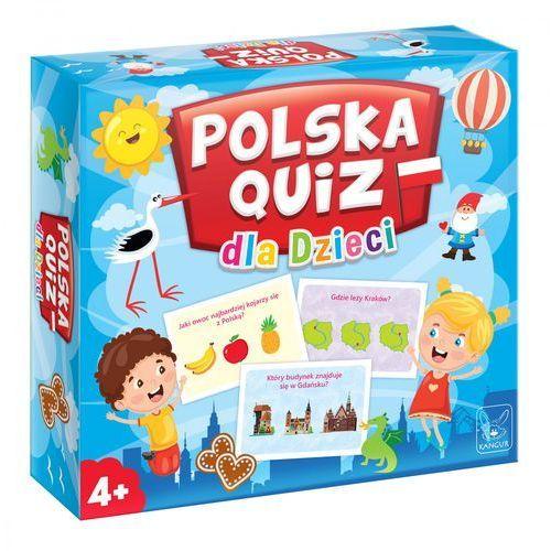 Gra polska quiz dla dzieci marki Kangur sp. z o.o.