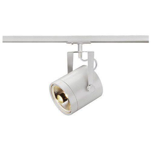 Reflektor euro spot 1x75w es111 na szynę z adapterem 1 fazowym biały 143801 marki Spotline