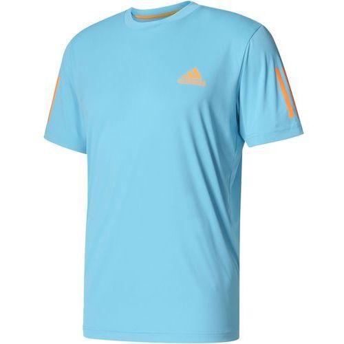 Adidas koszulka club tee samba blue /glow orange s (4057289563388)