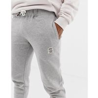 Jack & Jones Originals Joggers In Slim Fit With Badge Branding - Grey, kolor szary
