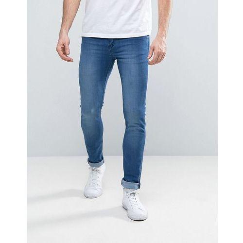 tight jeans fresh blue wash - blue marki Cheap monday