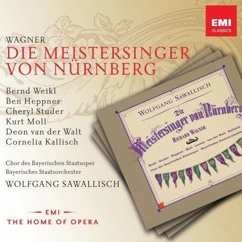 Empik.com Die meistersinger - wolfgang sawallisch (płyta cd) (5099973901822)