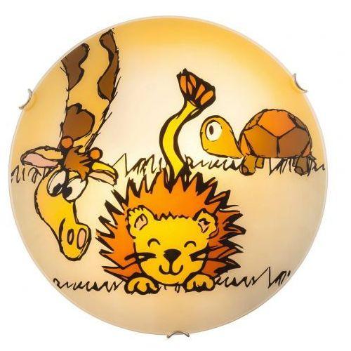4559 - lampa dziecięca leon 2xe27/60w marki Rabalux