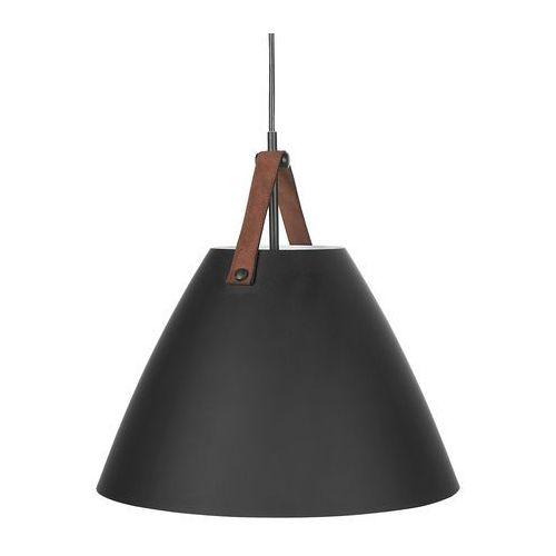 Beliani Lampa wisząca czarna wilmot (4260602373087)