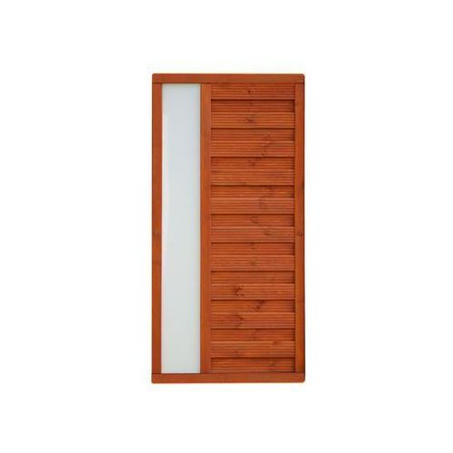 Płot szczelny 90x180 cm drewniany vitrum marki Werth-holz