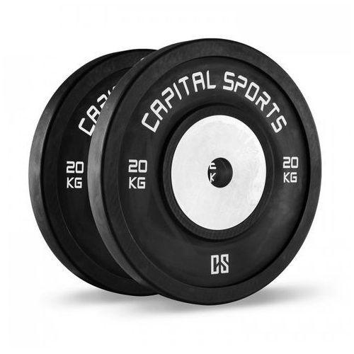Capital sports Inval hi grade competition obciążniki 50 mm rdzeń aluminiowy 2 x 20 kg