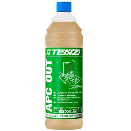 TENZI APC OUT, P-12 (1 litr, 1:10) - preparat w koncentracie do czyszczenia elewacji, fasad, dachów
