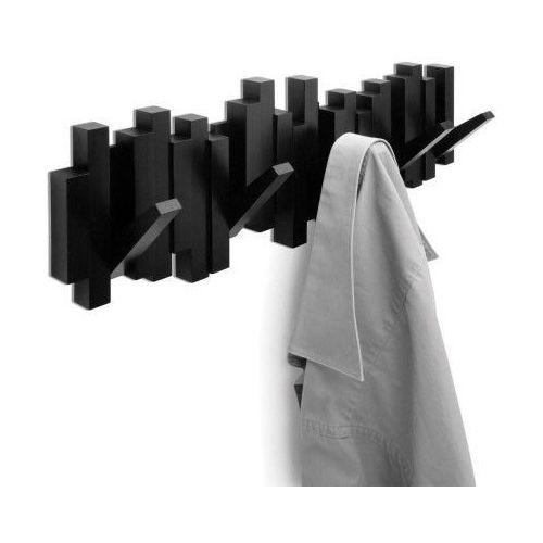 wieszak na ubrania sticks czarny marki Umbra