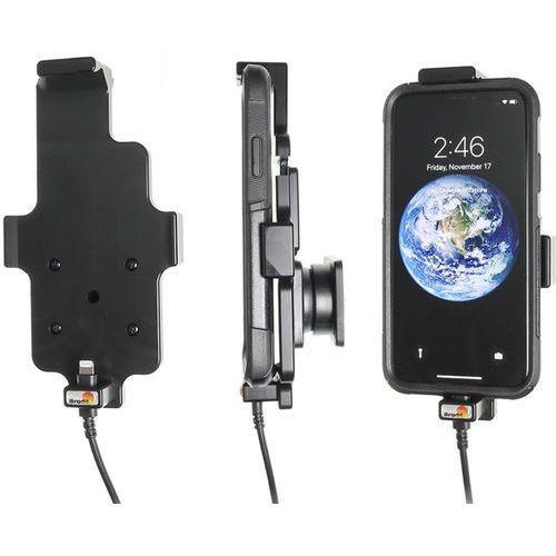 Brodit ab Uchwyt do apple iphone x w futerale z wbudowanym kablem usb oraz ładowarką samochodową (7320285219984)