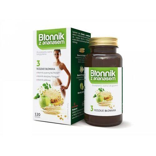 DrUroda Błonnik z ananasem tabletki do ssania x 120 tabl. (5901130353293)
