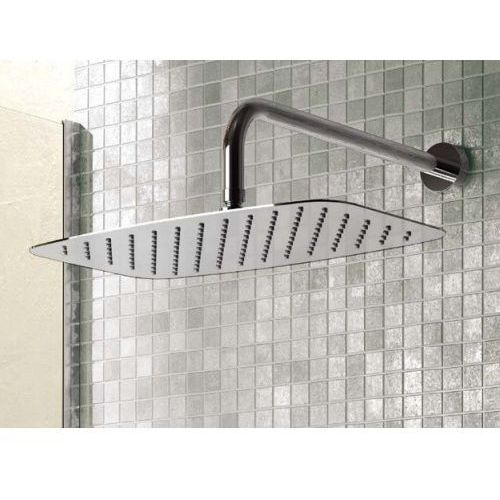 """idealrain luxe deszczownia prostokątna 300x200mm, grubość 4mm, przyłącze 1/2"""" inox b0390my marki Ideal standard"""