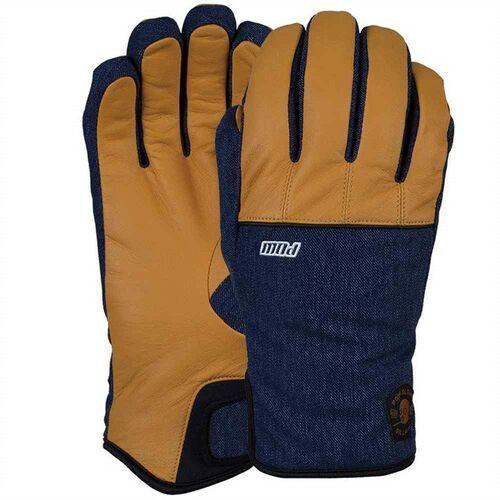 Rękawice snowboardow - villain glove tobacco (long) (to) rozmiar: l, Pow