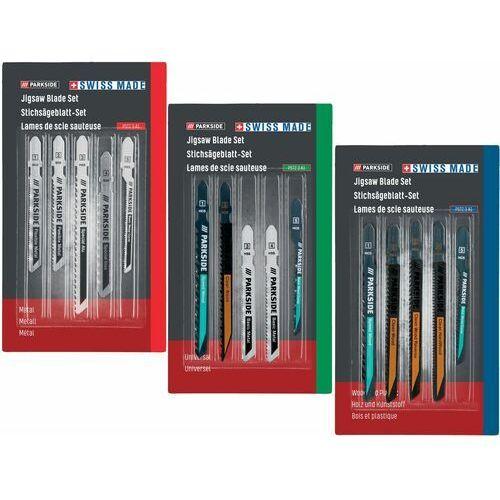 Parkside® zestaw brzeszczotów do wyrzynarki pstz 3 (4056233060829)