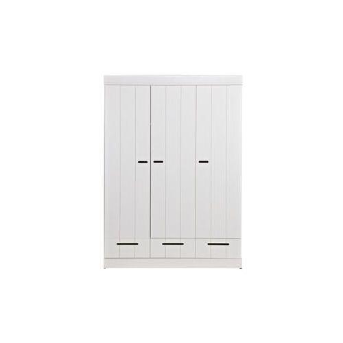 Woood Szafa CONNECT trzydrzwiowa biała 360305-GOW, 360305-GOW