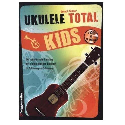 Ukulele Total Kids, m. Audio-CD