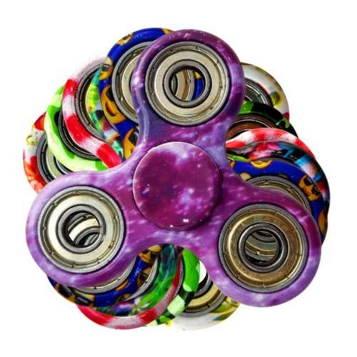 Zabawka antystresowa Fidget Spinner (mix kolorów) (5060459741546)