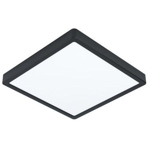 Eglo -- wysyłka 48h -- 99271 fueva 5 oprawa natynkowa; stal, czarny / plastik, biały ip44 łazienka (9002759992712)