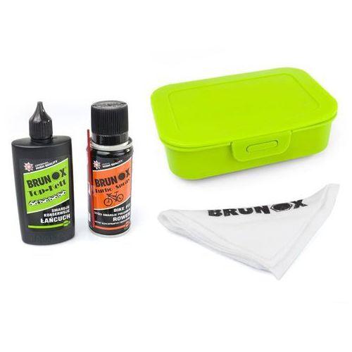 Zestaw do czyszczenia napędu Bike-Fit Turbo Spray 200 ml, Top Kett 100 ml, ściereczka