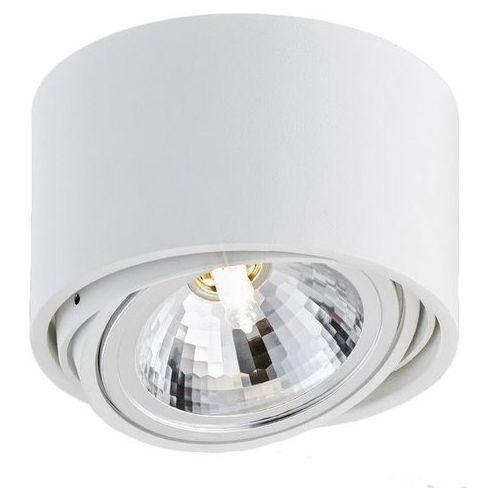 Kaspa - Oprawa stropowa natynkowa pojedyncza - Lumos - biała - biały (70251101)