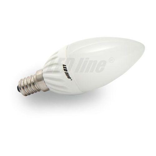 Żarówka LED E14 230V 5W biała ciepła CANDLE