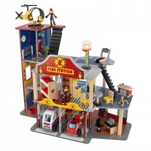Kidkraft drewniana remiza strażacka garaż