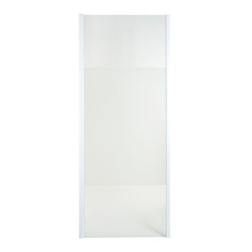 Ścianka prysznicowa Onega 90 biały/wzór, E49