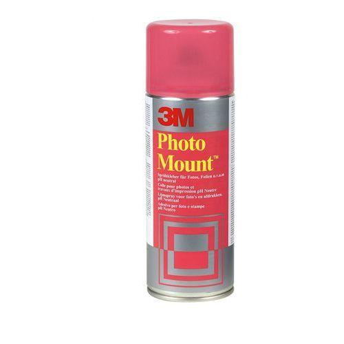 Klej w sprayu 3M Photomount (UK9479/10), do papieru fotograficznego, 400ml