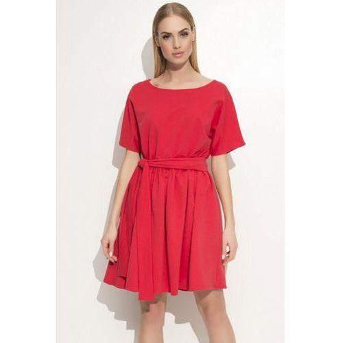 Sukienka Model M334 Red, kolor czerwony