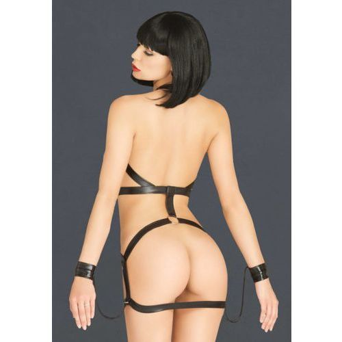 Bondage body harness dress marki Legavenue