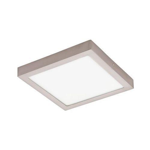 Eglo Plafon lampa sufitowa fueva 1 94528 natynkowa oprawa led 22w kwadratowa nikiel satynowany (9002759945282)