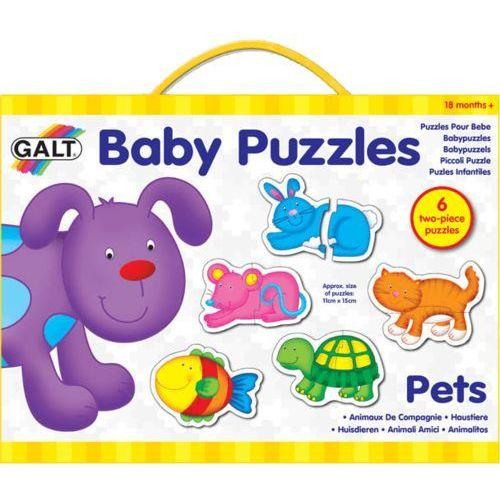 puzzle dla najmłodszych – zwierzątka domowe 2 od producenta Galt