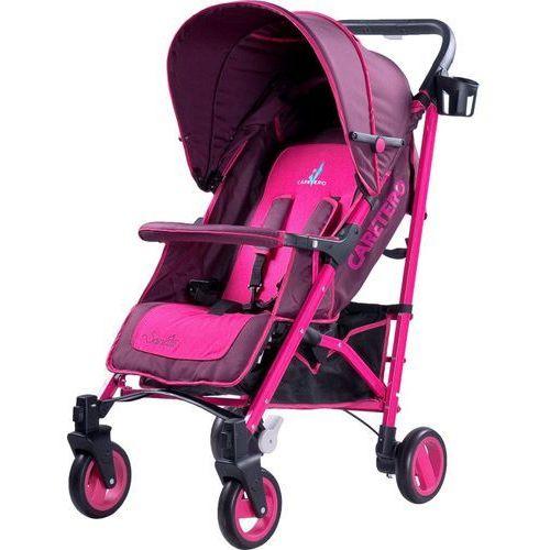 Wózek spacerowy  sonata różowy + darmowy transport! marki Caretero