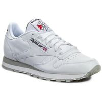 Buty Reebok - Cl Lthr 2214 White/Light Grey, 35-46