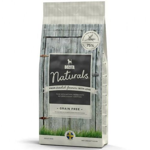 naturals grain free - bezzbożowa sucha karma dla psów, 11,5 kg marki Bozita
