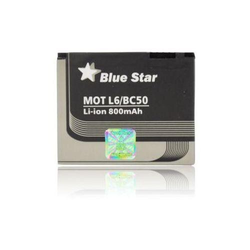 Bateria bs motorola bc50 l6/l7/l9/e8/c261/k1/v3x 850 mah zamiennik wyprodukowany przez Bluestar
