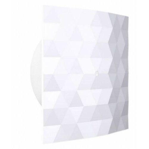Wentylator łazienkowy Dospel Black&White 120 S 007-4327_W biały domowy ścienny / sufitowy wersja standard, 007-4327_WЃ