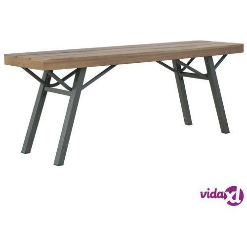 vidaXL Ławka ogrodowa, 120 cm, lite drewno akacjowe (8718475614906)