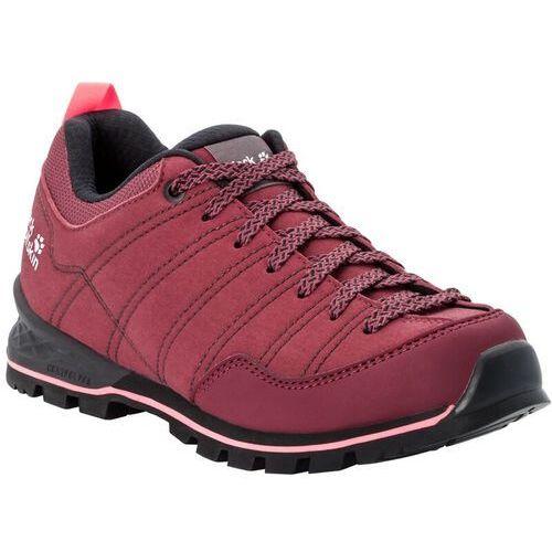 scrambler buty kobiety, burgundy/pink uk 8 | eu 42 2020 buty turystyczne marki Jack wolfskin