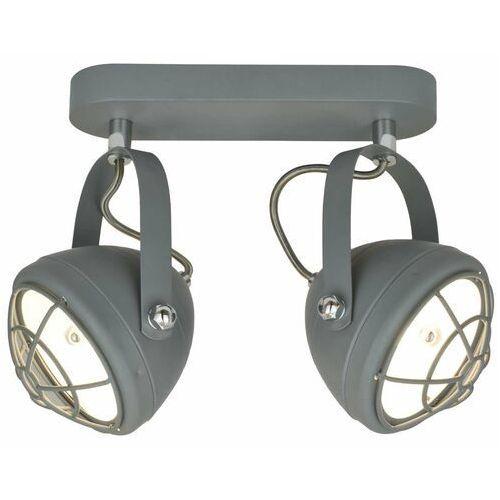 Plafon Zuma Line Balve G917006-2B lampa sufitowa 2x40W E14 szary (2011006027722)
