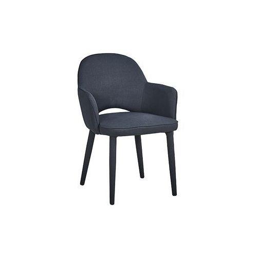 Signal Krzesło metalowe robin ciemny szary loft