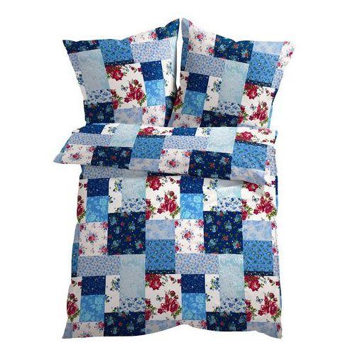 """Bonprix Pościel """"patchwork"""" niebieski"""