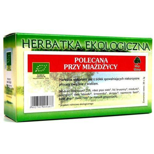 Herbata Miażdżycowa fix BIO 20*2g DARY NATURY (5902741005687)