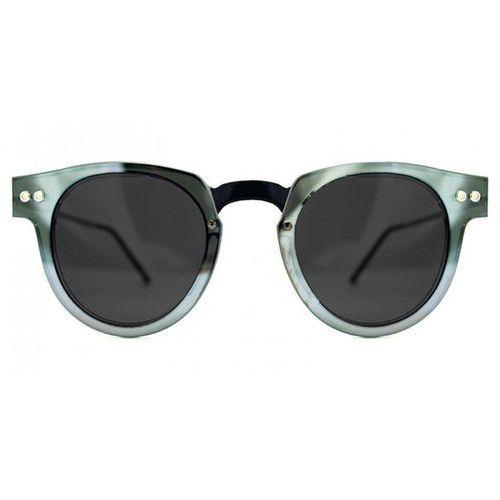Okulary Słoneczne Spitfire Sharper Edge Select Double Lens Black/Silver Mirror/Black