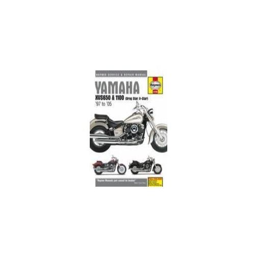Yamaha XVS650 & 1100 (Drag Star, V-Star) Service and Repair Manual, Mather, Phil