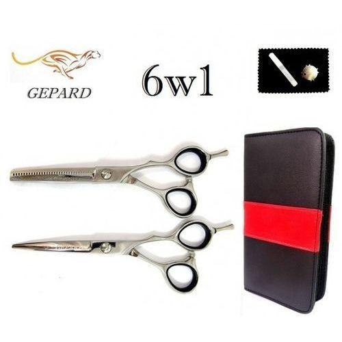 Gepard Degażówki 5,5+nożyczki fryzjerskie  5,5 offset