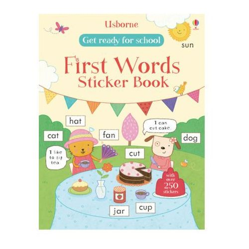 Get Ready for School First Words Sticker Book (9781409597544)