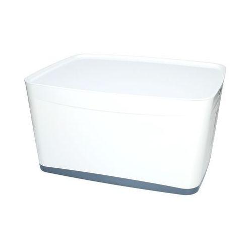 Pojemnik duży z pokrywką biało/szary mybox leitz marki Esselte